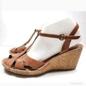 8571f601225e Clarks Artisan Collection Cork Wedges size 9M